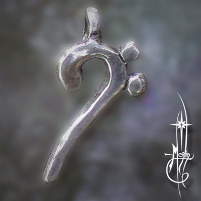 Bass Clef Amulet