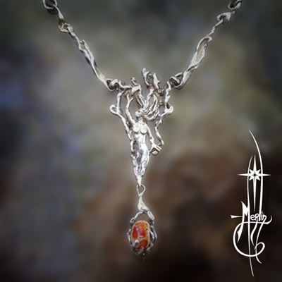 Flame Sprite Necklace