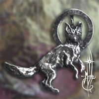 Dancing Coyote Amulet