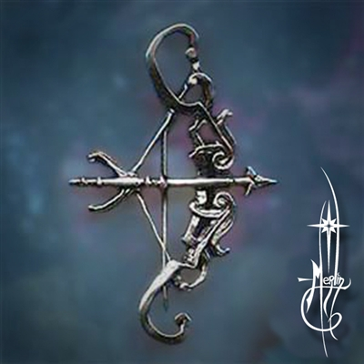 Bow and Arrow Pin