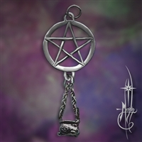 Small Star with Cauldron Amulet