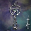 Small Pentacle with Cauldron and Moonstone Amulet