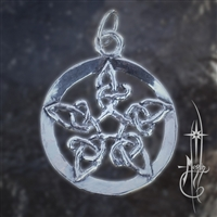 Knotted Star Amulet