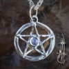 Small Star with Moonstone Amulet