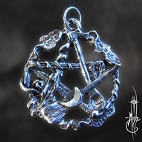 Small Kitchen Witch Pentacle