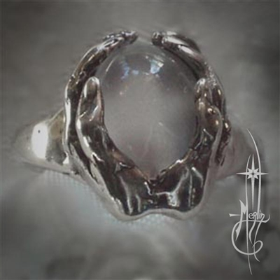 Scrying Hands Ring