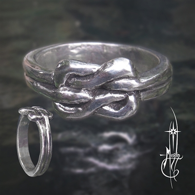 Celtic Lovers Knot Ring
