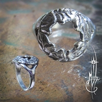 Leaf Wreath Ring