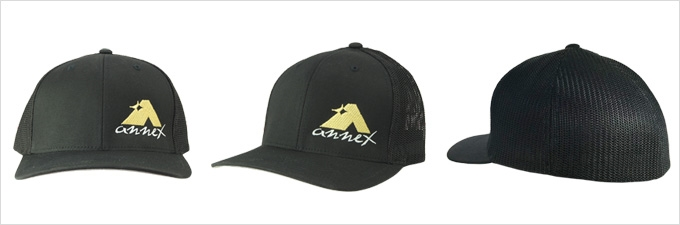 Annex Black Baseball Hat