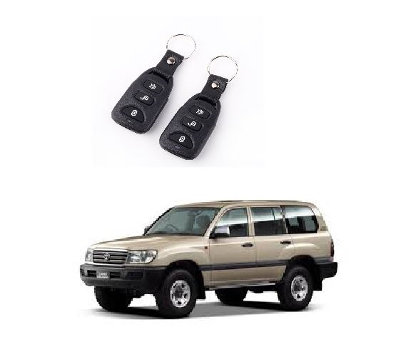 100 SERIES LANDCRUISER 5 DOOR CENTRAL LOCKING KIT - This is High Quality Central Locking Kit with 2 x Remote Controls and Wiring Harness to suit Toyota Landcruiser 100 Series Central Locking and Keyless Entry System with everything you need for DIY Instal