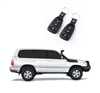 105 SERIES LANDCRUISER 5 DOOR CENTRAL LOCKING KIT - This is High Quality Central Locking Kit with 2 x Remote Controls and Wiring Harness to suit Toyota Landcruiser 100 Series Central Locking and Keyless Entry System with everything you need for DIY Instal