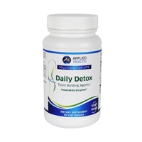 Daily Detox Intestinal Toxin Binding and Liver Detoxifying Agents Vital for Weight Loss Initiatives.