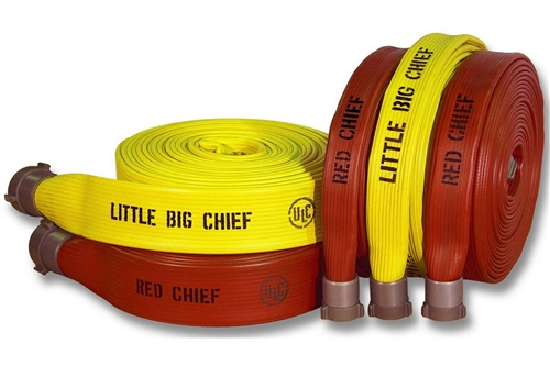 "BULLDOG LITTLE BIG CHIEF FIRE HOSE - 1.5"" x 50'"