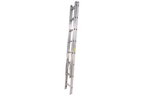 DUO SAFETY ALUMINUM ATTIC LADDER - 10'
