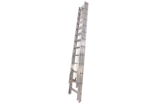 DUO SAFETY ALUMINUM 3-SECTION EXTENSION LADDER - 35'