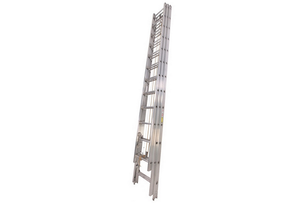 duo safety aluminum 3 section extension ladder 35 39. Black Bedroom Furniture Sets. Home Design Ideas