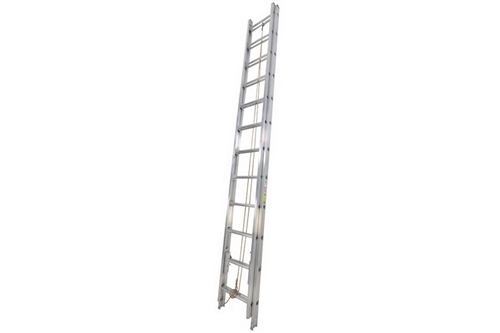 DUO SAFETY ALUMINUM 2-SECTION EXTENSION LADDER - 24'