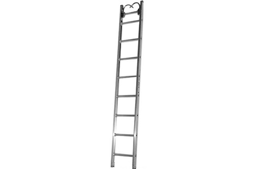 DUO SAFETY ALUMINUM ROOF LADDER - 14'