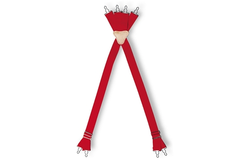 LION FOUR-WAY NON-STRETCH SUSPENDERS