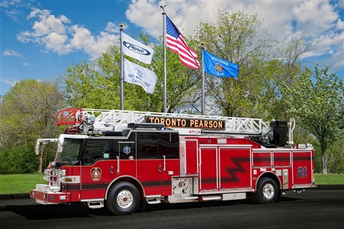 PIERCE 75' ALUMINUM AERIAL LADDERS
