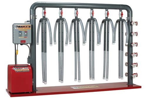 RAM AIR GEAR DRYER - 6 UNIT - HEATED