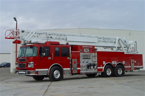 SMEAL 100' SUPER HEAVY DUTY AERIAL