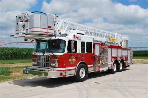 SMEAL 85' REAR MOUNT PLATFORM