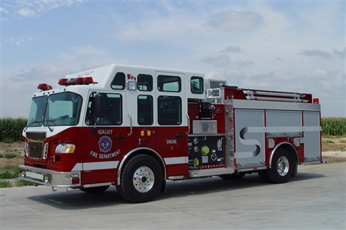SMEAL ENCLOSED TOP MOUNT CONTROLS PUMPER