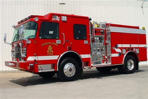 SMEAL WILDLAND INTERFACE PUMPER