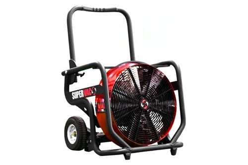 "SUPER VAC 18"" ELECTRIC PPV - 1.5 HP VARIABLE SPEED"