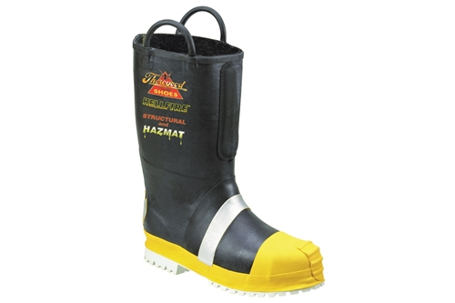 THOROGOOD RUBBER INSULATED STRUCTURAL BUNKER BOOT - LUG SOLE