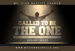 Called To Be The One: 5-part series