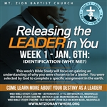 Releasing The Leader In You: 4-part series