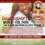 Relationshifts: How To Be The Man/Woman God Wants You To Be
