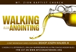 Walking In The Anointing: 3-part series