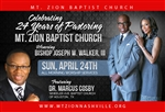24th Pastoral Anniversary of Bishop Joseph W. Walker, III: 4-part set