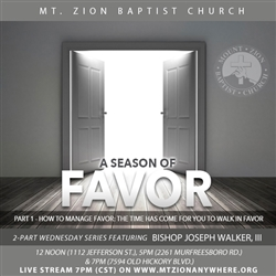 A Season of Favor: 2-part series