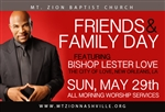 Friends & Family Day 2016: 7am Service with Bishop Lester Love