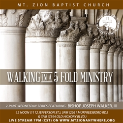 Walking In A Five Fold Ministry: 2-part series