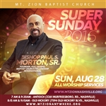 Super Sunday 2016 - 8:15 service only