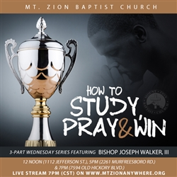 How To Study, Pray and Win series: Part One
