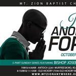 I'm Anointed For It: 5-part series