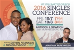 Singles Conference 2016