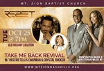 Take Me Back Revival with Pastor Tellis Chapman