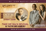 Take Me Back Revival with Pastor Christopher Wimberly