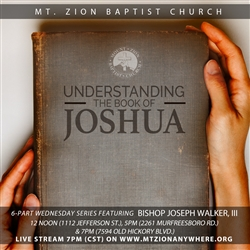 Understanding The Book of Joshua - part 5