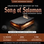The Song of Solomon series Part 1