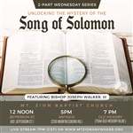 The Song of Solomon series Part 2
