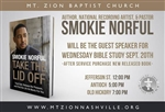 Take The Lid Off Book Tour with Pastor Smokie Norful - 7pm Bible Study
