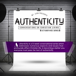 Authenticity: Conversations on Christian Living: 5-part series